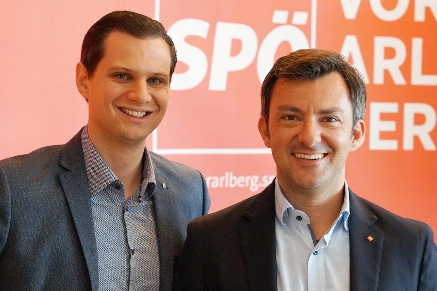 Nathaniel Heinritz und Martin Staudinger