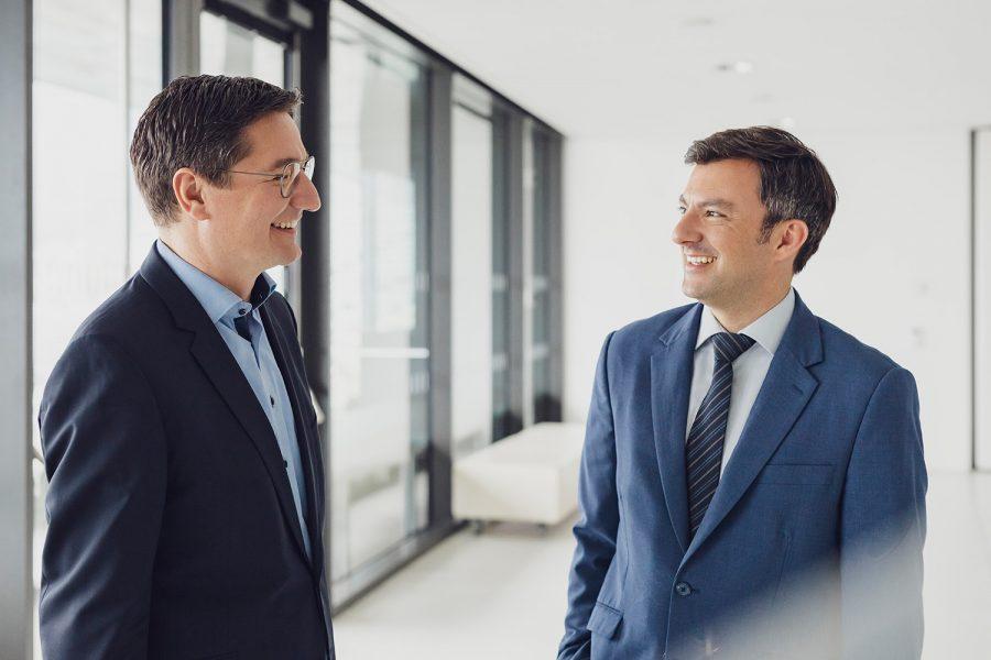 SPÖ-Chef Martin Staudinger und Nationalratsabgeordneter Reinhold Einwallner