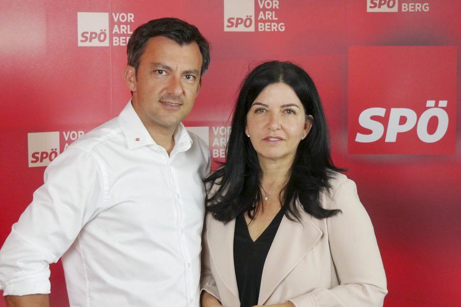Martin Staudinger und Manuela Auer
