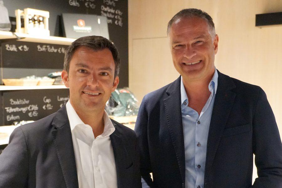 Martin Staudinger und Mario Leiter