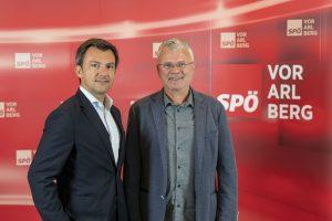 Martin Staudinger und Gerhard Unterkofler.